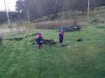 Vi såg sviniga vilddjur