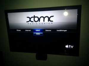 Apple TV G2 med XBMC
