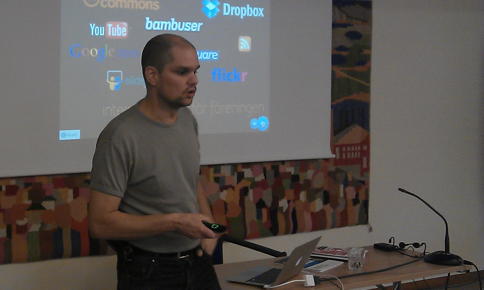 Föredrag i Luleå