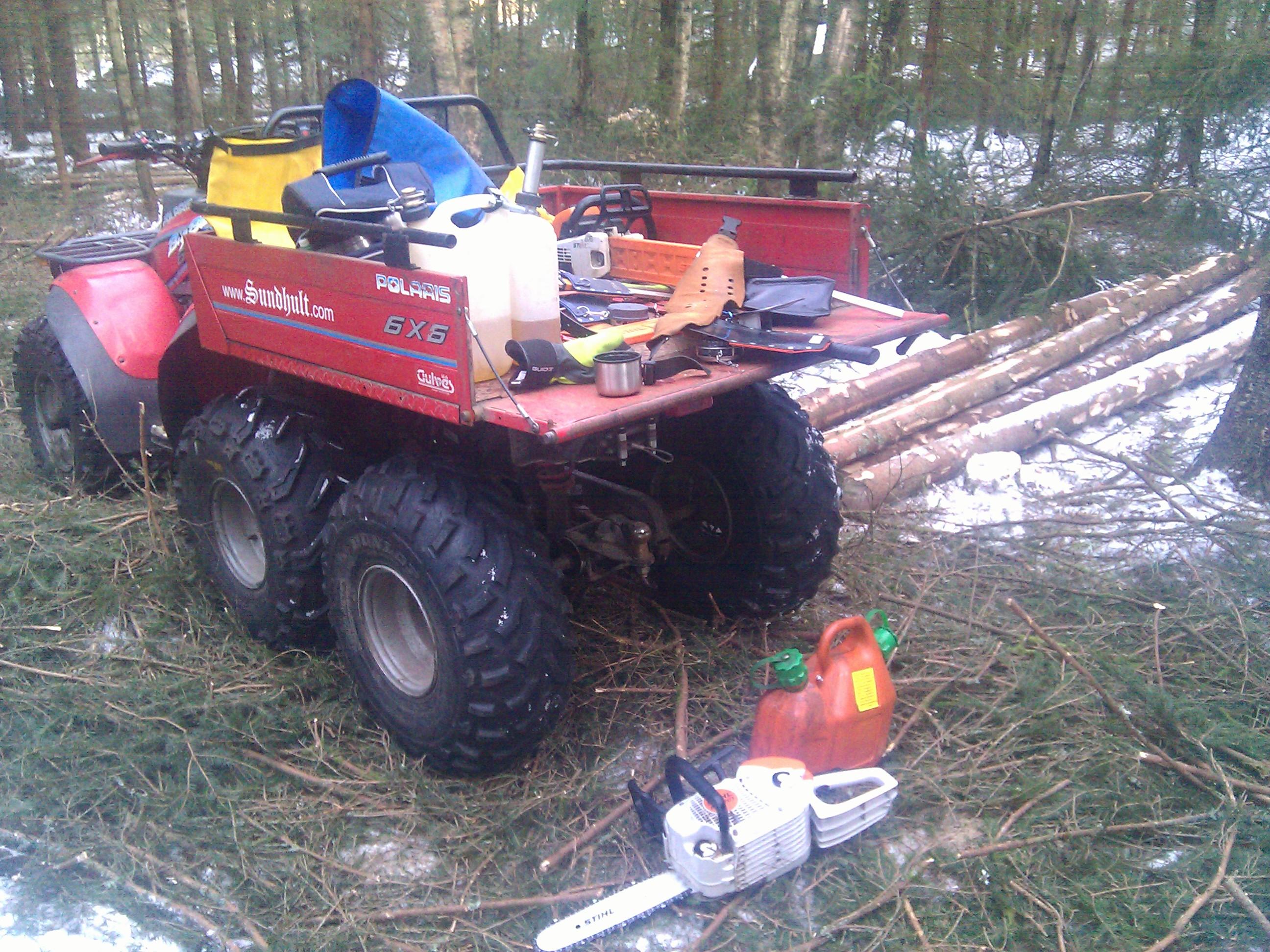 ATV i skogen