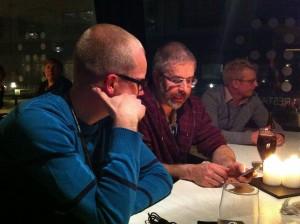 En av diskussionerna på Webcoast 2012