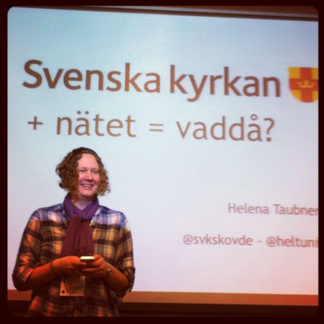 Helena Taubner pratar om Svenska Kyrkan på Webcoast