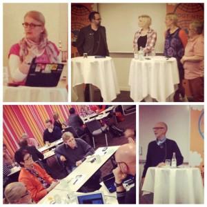 Collage från Framtidsforum 2012
