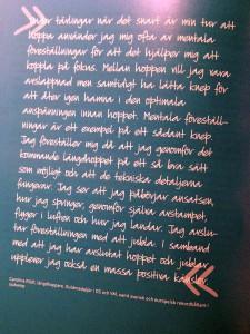 Carolina Klüft citat i boken Träna tanken
