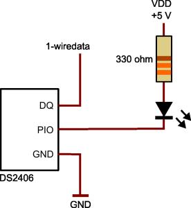 DS2406 som utgång