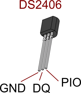 DS2406 pinout