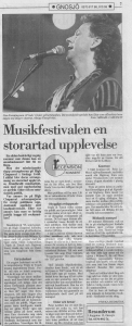 High Chaparal Musikfestival Recension i VN