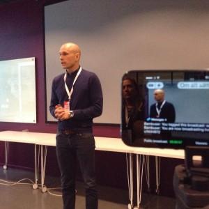 Mikael Trieb pratar om mål
