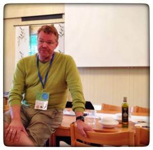 Rikard Nilsson pratar sensorik