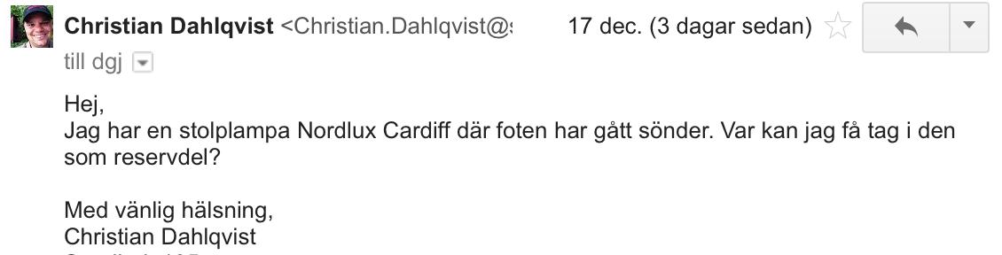 Nordlux mail 1