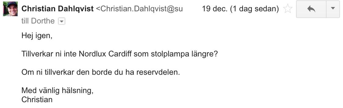 Nordlux mail 3