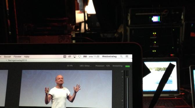 Direktsänd video från Näringslivsdagen 2015 i Falkenberg