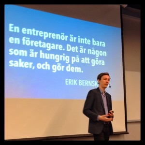 Erik Bernskiöld - En entreprenörs beskännelse - webcoast2015