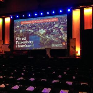 Näringslivsdagen i Falkenberg 2015-03-04