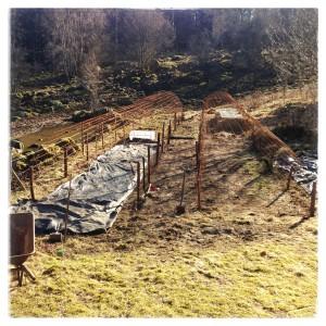 Fyra odlingstunnlar på plats i sundhult
