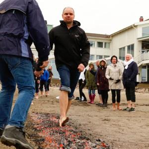 Christian går på glödande kol under Tomas Enhagers ledning