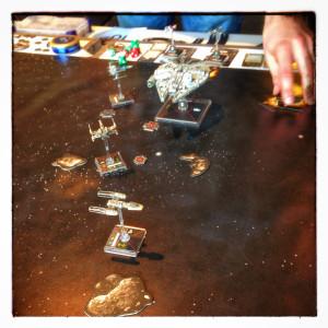 Min första seger i X-Wing Miniatures Game