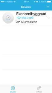 Gårdnät - App för accesspunkt utan controller