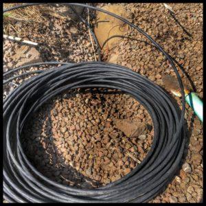 Gårdsnät - CAT6 Ethernetkabel för utomhusbruk