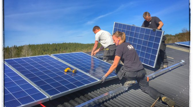 Vad händer med mina solceller när de tjänat ut?