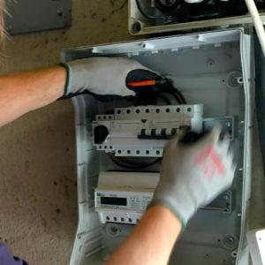 Solceller - Elcertifikatmätare installeras