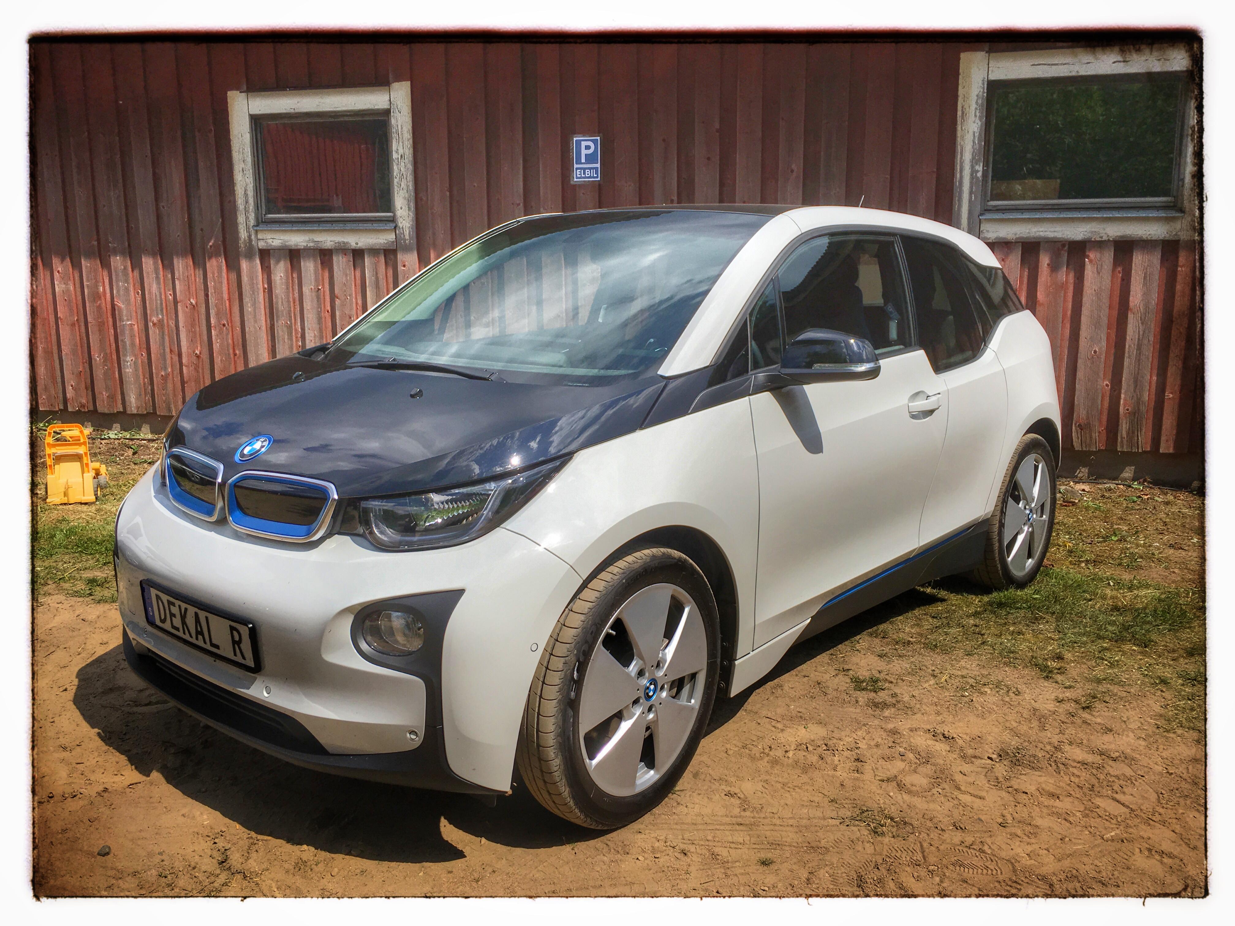 Öppet hus i Sundhult 2016 - BMW i3 Rex