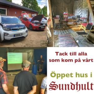 Öppet hus i Sundhut 2016 - Tack