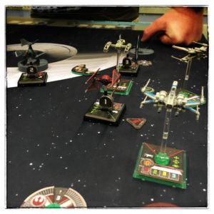 WARCON2016 - X-wing Miniatures Game Match