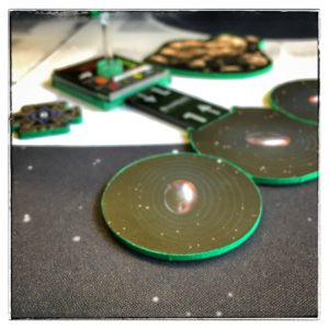 X-wing Miniatures Game- Green mines