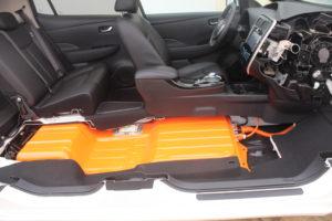 Nissan Leaf 2013 Batterypack - CC by Norsk Elbilsforening