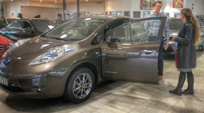 Ett år och 2100 mil med elbil