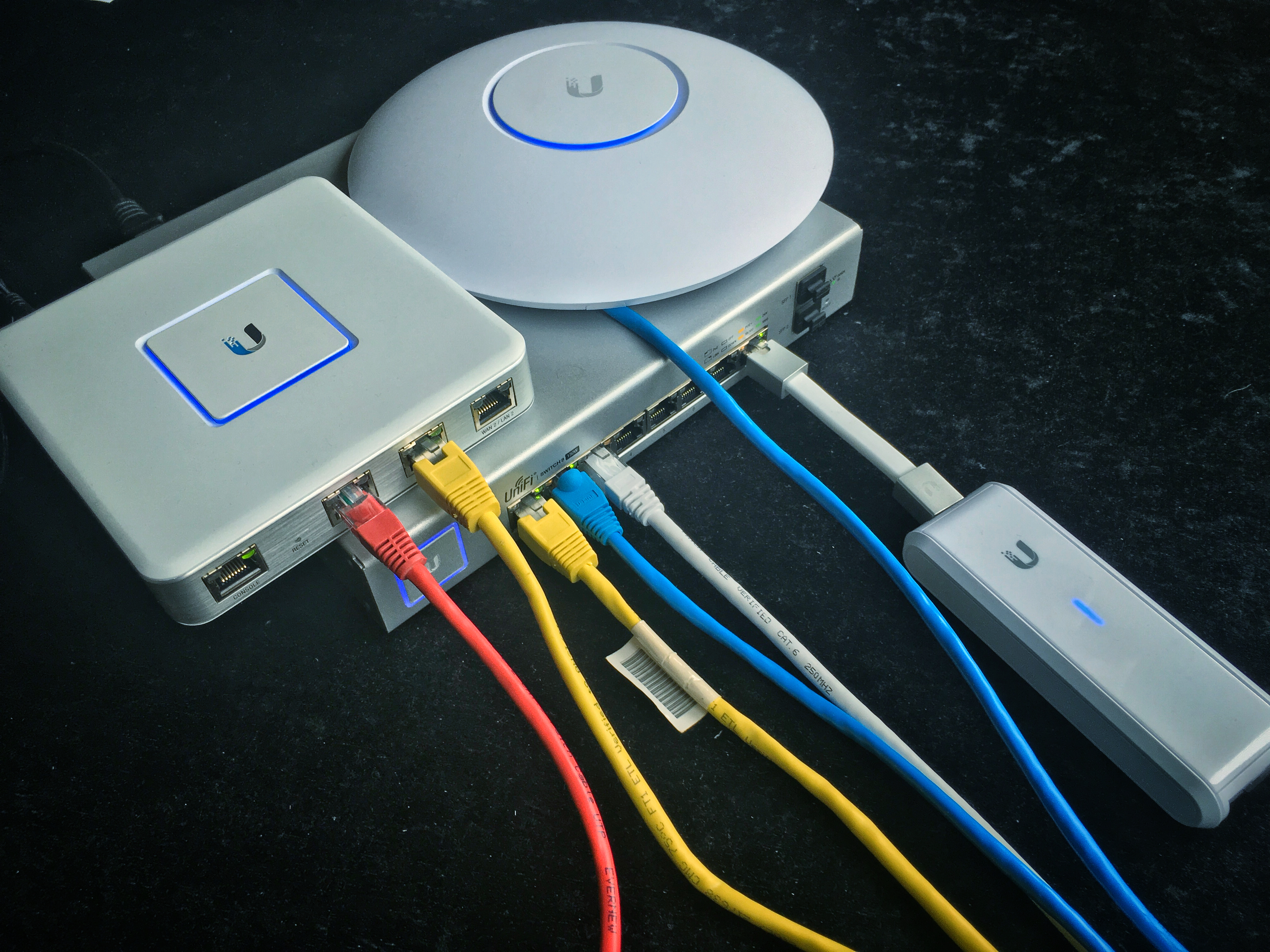 Ubiquiti UniFi - Inkoppling av enheter
