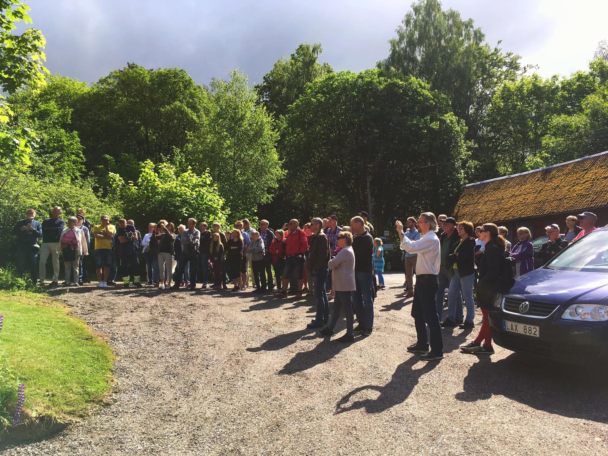 Viktors affärshus- Solskensdagen 2017 med invigning av Viktors affärshus
