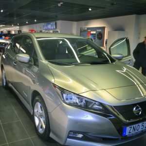 Nissan Leaf 40 kWh Tekna på bilfirman