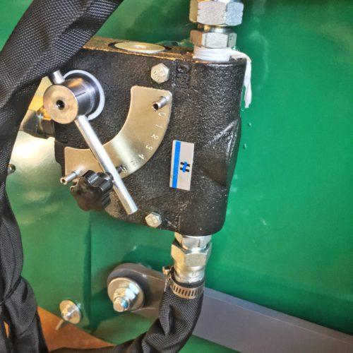 Woodland Mills WC88 - Justering av hastigheten på inmatningen