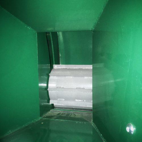Woodland Mills WC88 - Matarhjulet i intaget som tar 20 cm