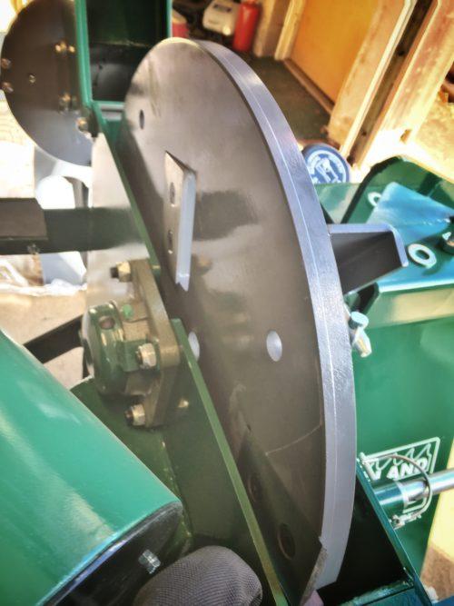 Woodland Mills WC88 - Svänghjul med fyra knivar