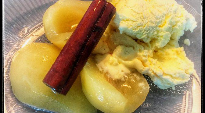 Vaniljglass och maränger