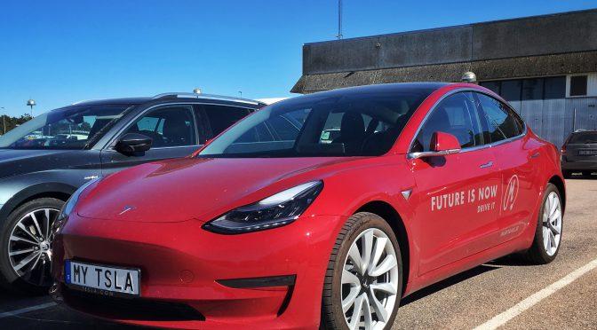Det blir ingen Tesla Model 3 SR+ i Sundhult