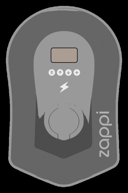 Laddbox Zappi V2 typ 2
