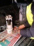 Ny bränslepump i Land Rovern