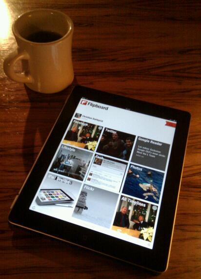 """Flipboard är en trevlig """"tidning"""" att ha på soffbordet"""