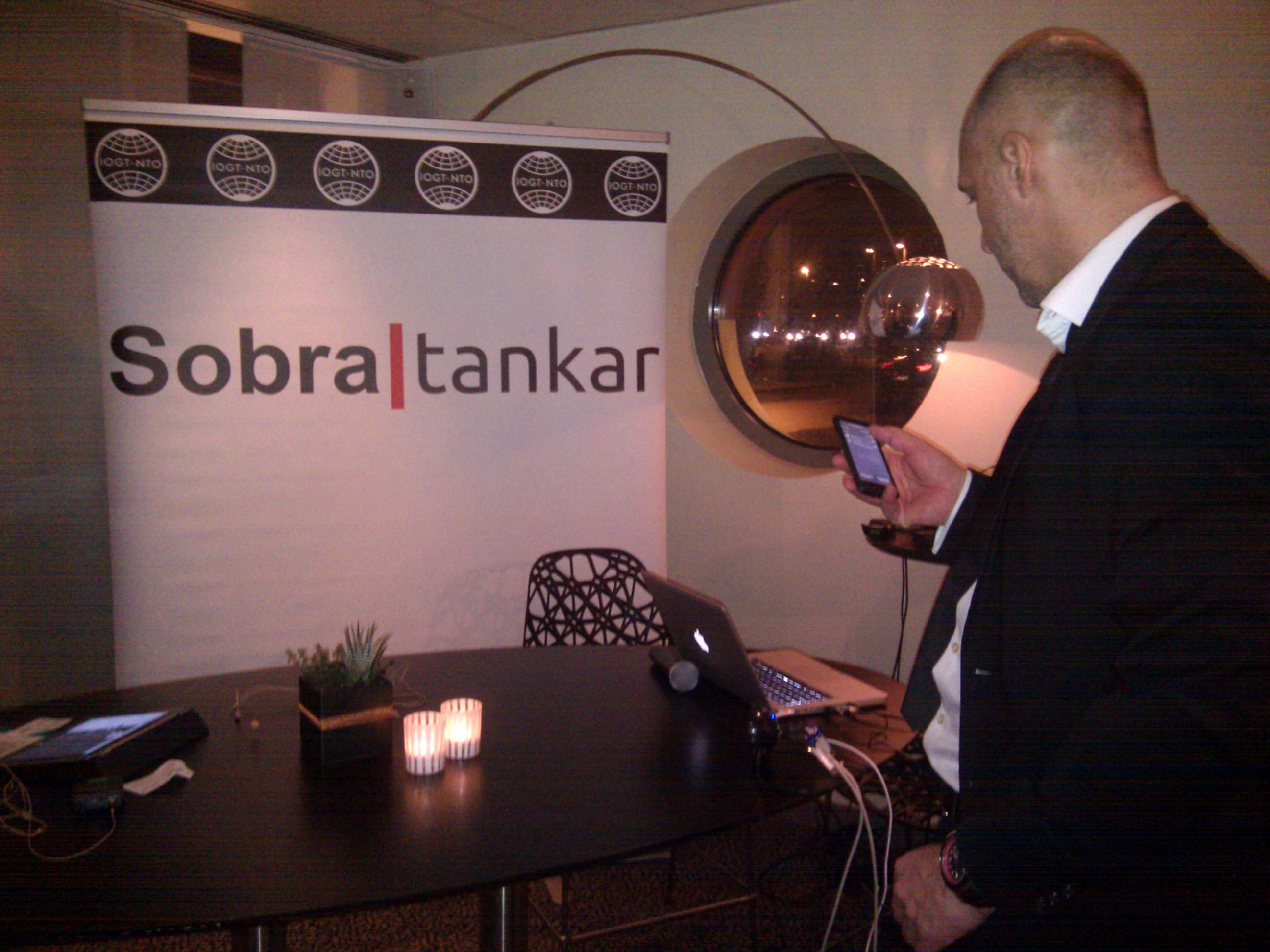 Förberedelser inför Sobra tankar Talkshow