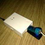 Så byggdes ett 1-wirenät med Raspberry Pi