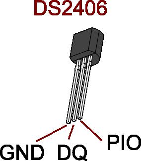 DS2406 pinout