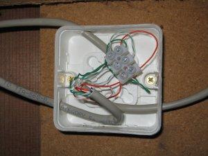 Kopplingsnod för 1-wirenätverket