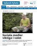 """Kommentar till HN:s """"Sociala medier viktiga i valet"""""""