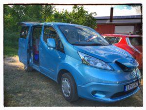 Öppet hus i Sundhult 2016 - Nissan NV200 Evalia