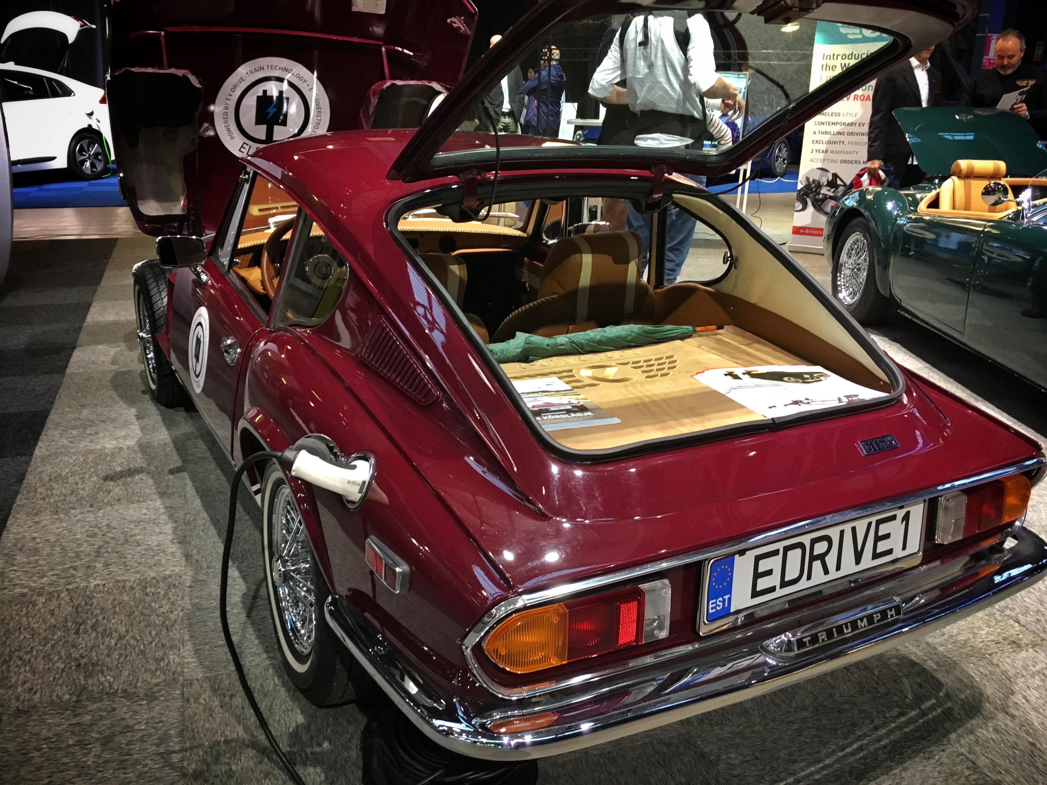 Triumph GT-6 e-driveretroladdkontakt