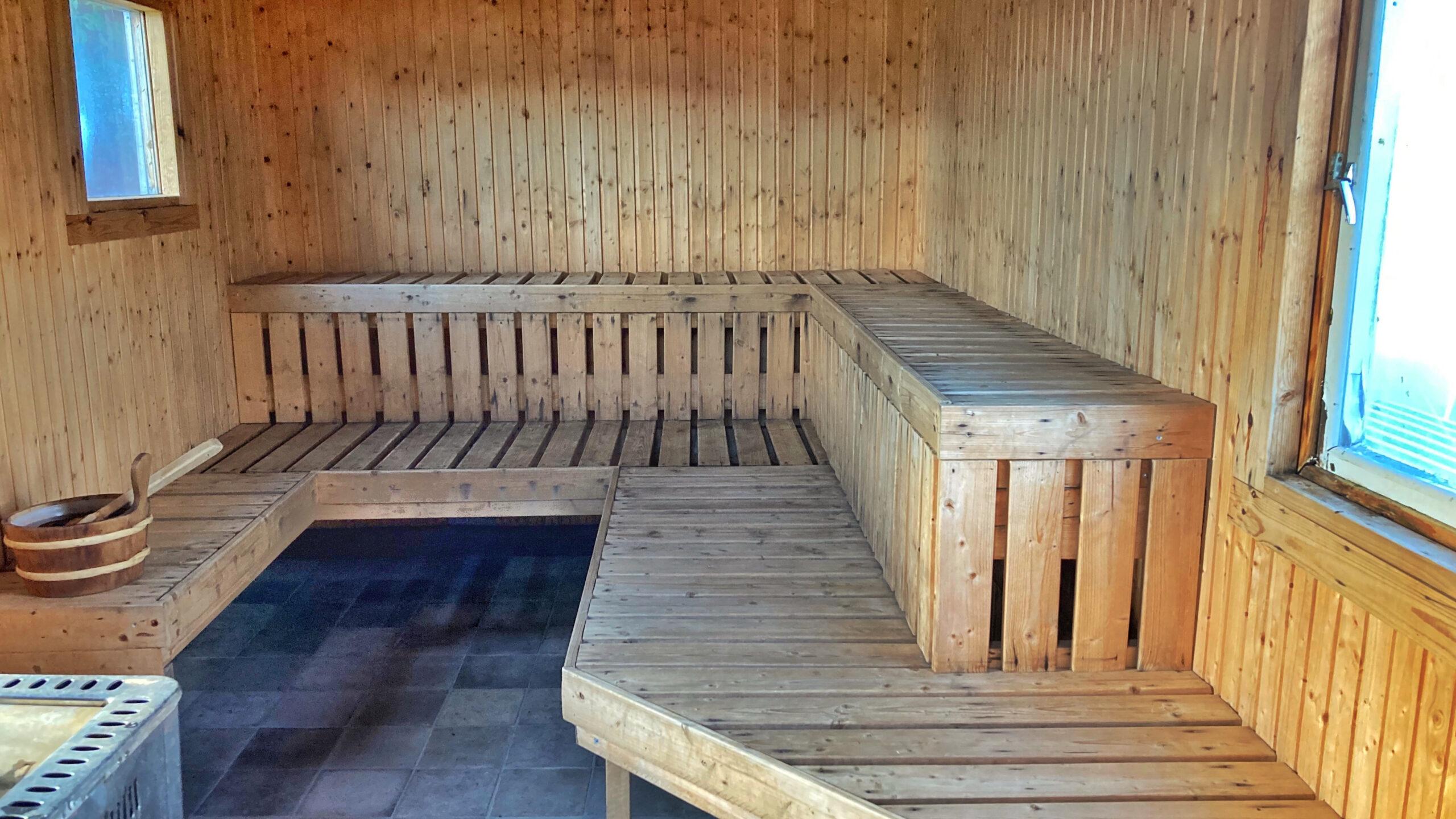 Den vedeldade bastun i den ombyggda manskapsboden